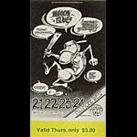 BG # 146 Moody Blues Fillmore Thursday ticket BG146
