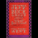 BG # 148-1 Jeff Beck Group Fillmore Poster BG148