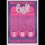 BG # 14-1 Quicksilver Messenger Service Fillmore Poster BG14