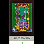 BG # 153 Vanilla Fudge Fillmore Tuesday NYE ticket BG153
