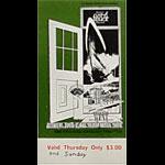 BG # 154 Grateful Dead Fillmore Thursday - Sunday ticket BG154