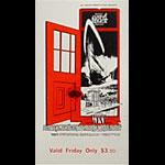 BG # 154 Grateful Dead Fillmore Friday ticket BG154
