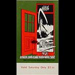 BG # 154 Grateful Dead Fillmore Saturday ticket BG154
