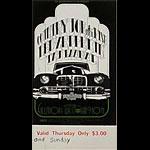BG # 155 Country Joe and the Fish Fillmore Thursday - Sunday ticket BG155