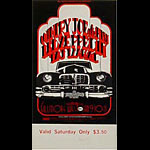 BG # 155 Country Joe and the Fish Fillmore Saturday ticket BG155