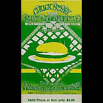 BG # 158 Chuck Berry Fillmore Thursday - Sunday ticket BG158