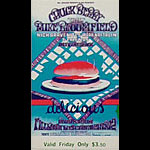 BG # 158 Chuck Berry Fillmore Friday ticket BG158