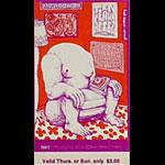 BG # 163 Spirit Fillmore Thursday - Sunday ticket BG163