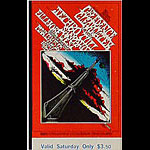 BG # 164 Creedence Clearwater Revival Fillmore Saturday ticket BG164