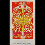 BG # 166 Butterfield Blues Band Fillmore Friday ticket BG166