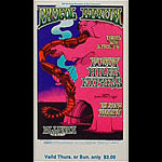 BG # 167 Procol Harum Fillmore Thursday - Sunday ticket BG167