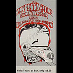 BG # 168 Jeff Beck Group Fillmore Thursday - Sunday ticket BG168