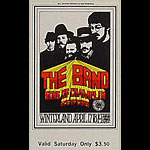 BG # 169 The Band Fillmore Saturday ticket BG169