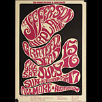 BG # 17-1 Jefferson Airplane Fillmore Poster BG17