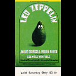 BG # 170 Led Zeppelin Fillmore Saturday ticket BG170