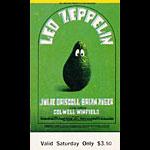 BG # 170 Led Zeppelin Fillmore Saturday ticket BG170