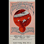 BG # 171 Jefferson Airplane Fillmore Friday ticket BG171