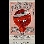BG # 171 Jefferson Airplane Fillmore Friday ticket BG171