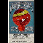 BG # 171 Jefferson Airplane Fillmore Saturday ticket BG171