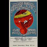 BG # 171 Jefferson Airplane Fillmore Saturday ticket BG171