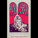 BG # 172 Albert King Fillmore Friday ticket BG172