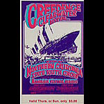 BG # 174 Creedence Clearwater Revival Fillmore Thursday - Sunday ticket BG174
