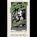 BG # 176 Grateful Dead Fillmore Friday ticket BG176