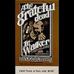 BG # 176 Grateful Dead Fillmore Thursday - Sunday ticket BG176