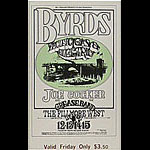 BG # 177 Byrds Fillmore Friday ticket BG177