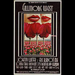 BG # 180-2 Johnny Winter Fillmore Poster BG180