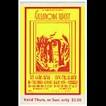 BG # 183 Ten Years After Fillmore Thursday - Sunday ticket BG183
