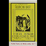 BG # 183 Ten Years After Fillmore Tuesday - Wednesday ticket BG183