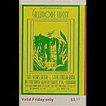 BG # 183 Ten Years After Fillmore Friday ticket BG183
