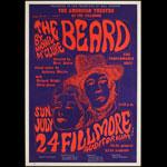 BG # 19-1 The Beard Fillmore Poster BG19