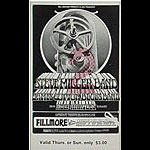 BG # 191 Steve Miller Band Fillmore Thursday - Sunday ticket BG191