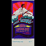 BG # 193 Chuck Berry Fillmore Friday ticket BG193