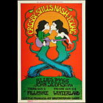 BG # 194-1 Crosby Stills Nash & Young Fillmore Poster BG194