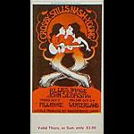 BG # 194 Crosby Stills Nash & Young Fillmore Thursday - Sunday ticket BG194