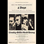 BG # 194 Crosby, Stills, Nash & Young Fillmore handbill BG194