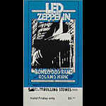 BG # 199 Led Zeppelin Fillmore Friday ticket BG199
