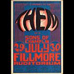 BG # 20-1 Them Fillmore Poster BG20