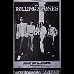 BG # 201-1 Rolling Stones Fillmore Poster BG201