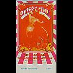 BG # 203 Jethro Tull Fillmore Friday ticket BG203