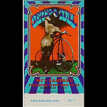 BG # 203 Jethro Tull Fillmore Saturday ticket BG203