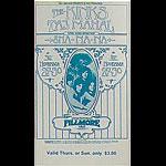 BG # 204 Kinks Fillmore Thursday - Sunday ticket BG204