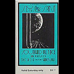 BG # 208 Sly & The Family Stone Fillmore Saturday ticket BG208
