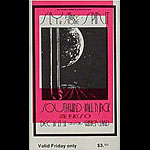 BG # 208 Sly & The Family Stone Fillmore Friday ticket BG208