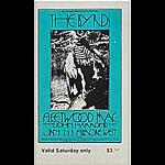 BG # 210 Byrds Fillmore Saturday ticket BG210