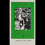 BG # 210 Byrds Fillmore Sunday ticket BG210