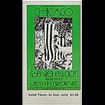 BG # 211 Chicago Fillmore Thursday - Sunday ticket BG211